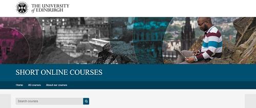 Edinburgh University - Short Online Courses